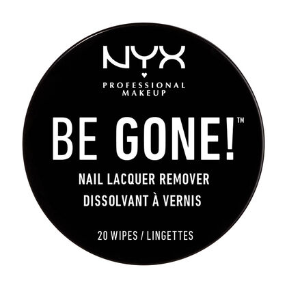 Be Gone! Nail Lacquer Remover Ξεβαφτικά Μαντηλάκια Νυχιών