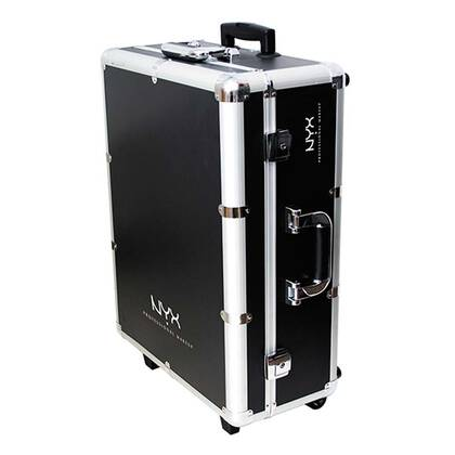 X Large Makeup Artist Train Case With Lights Βαλίτσα Μακιγιάζ